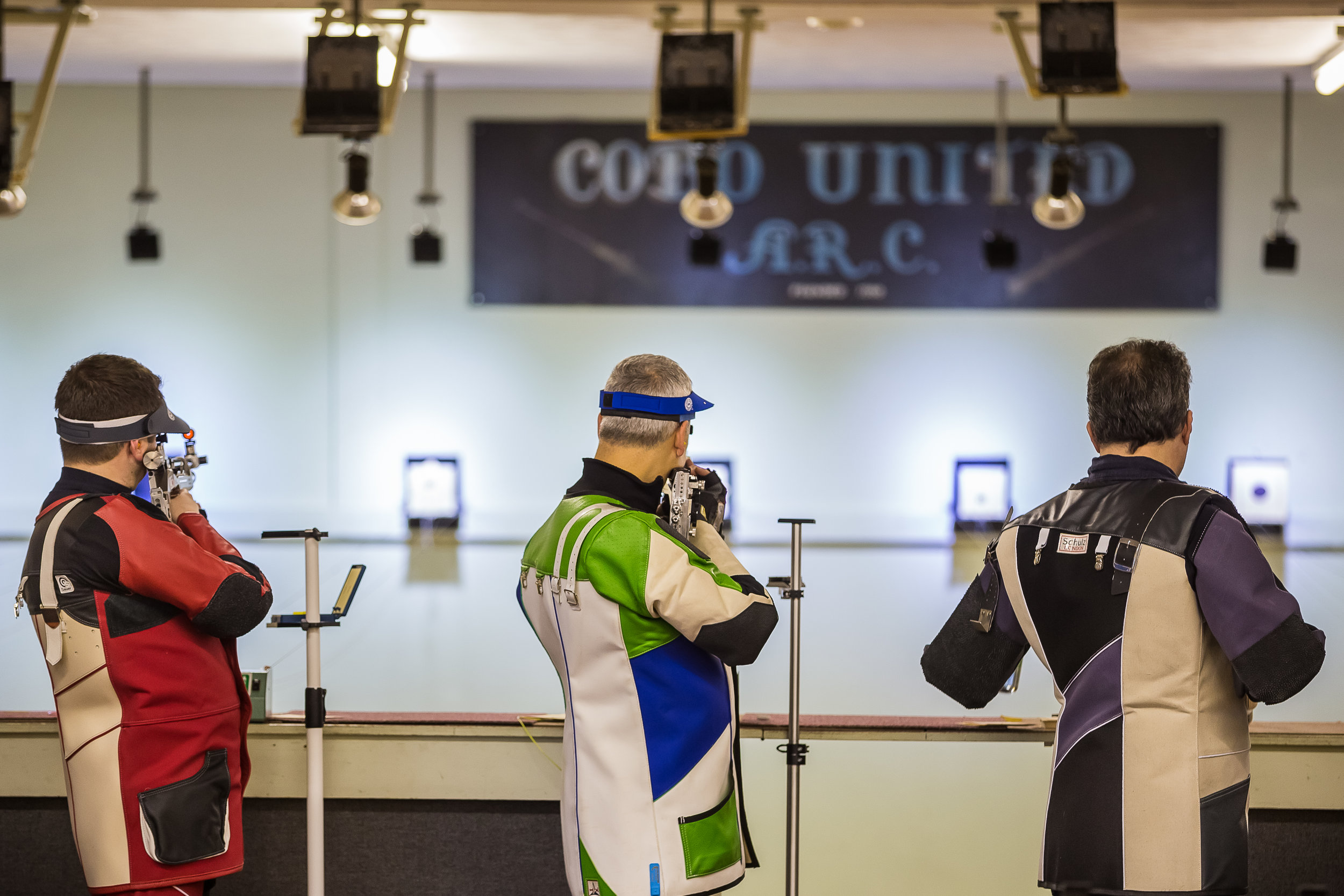 A few shots from the Cobo Air Rifle Open Saturday morning grouping...