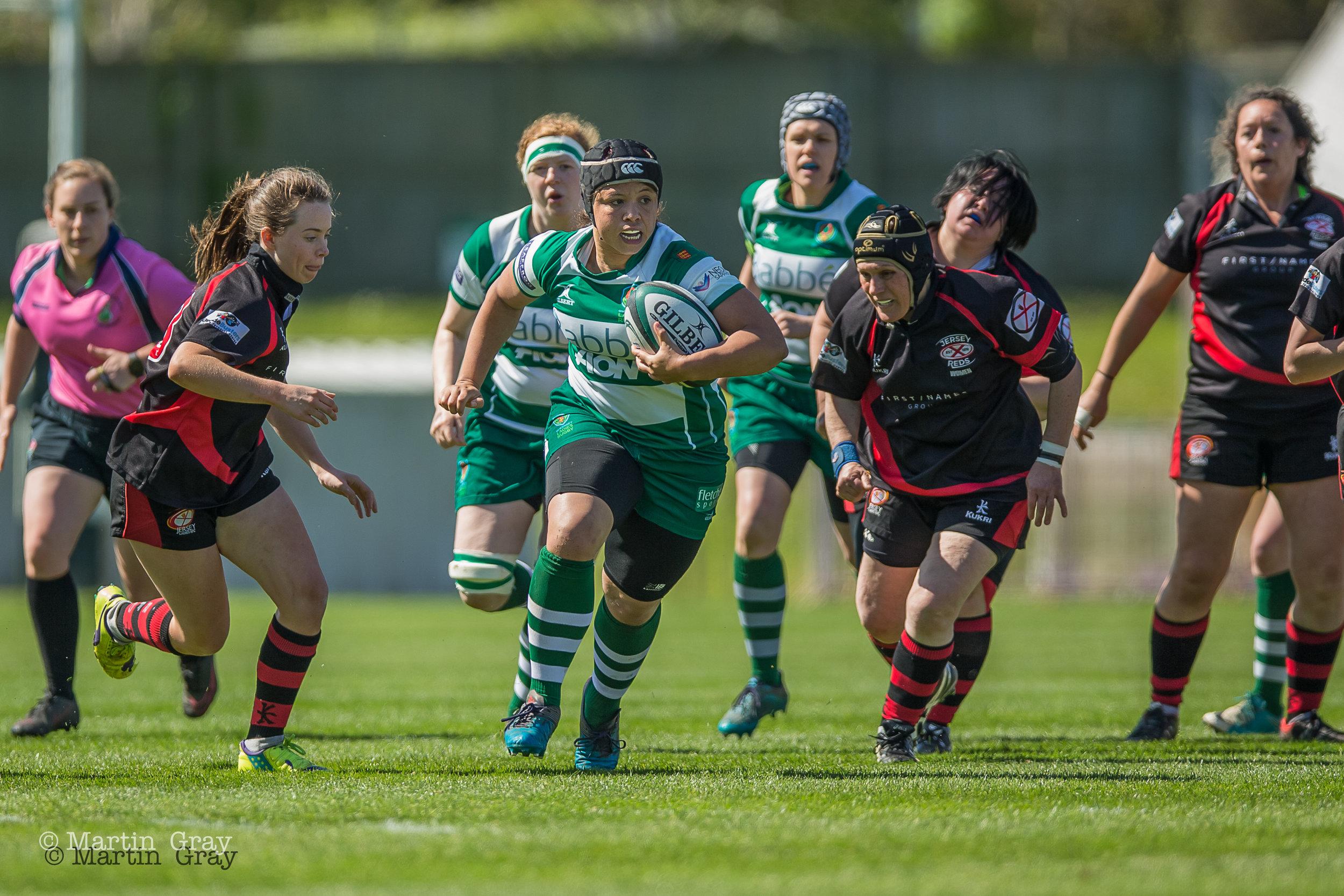 Guernsey Ladies v Jersey - Siam Trophy 2018... GLR win 40-0