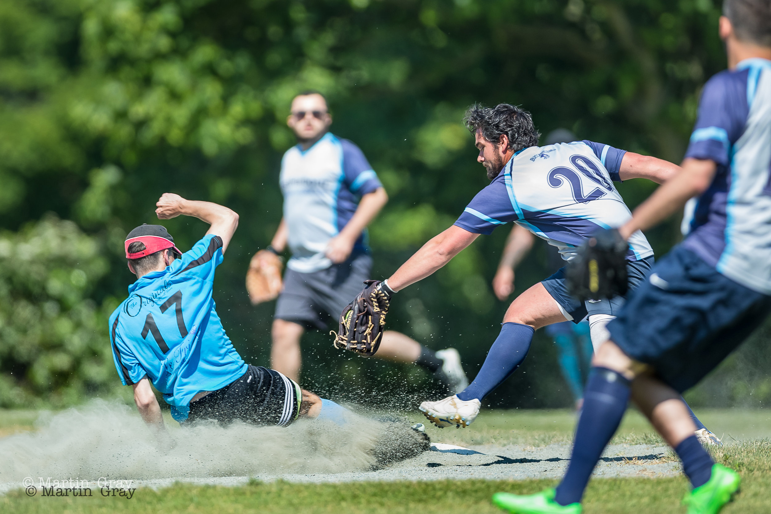 A selection of images from the pre-Final games in the Guernsey Softball CO-ED Slowpitch Tournament... The Final between Tomahawks and Hornets will follow...shortly!