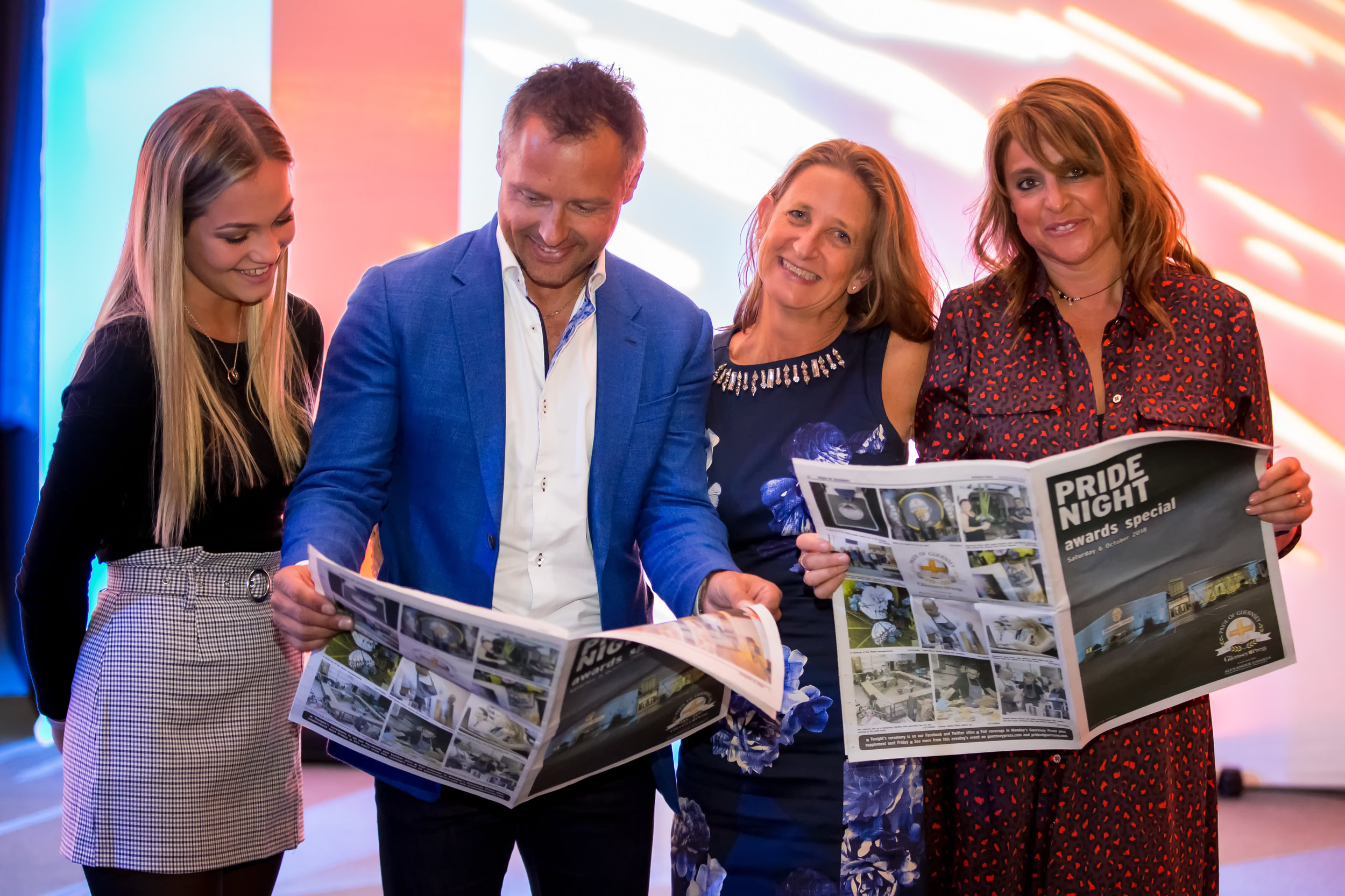 The Guernsey Press Pride of Guernsey Awards held at The Guernsey Press on 6th October 2018… Some well deserved recognition for some outstanding contributions to Guernsey life…