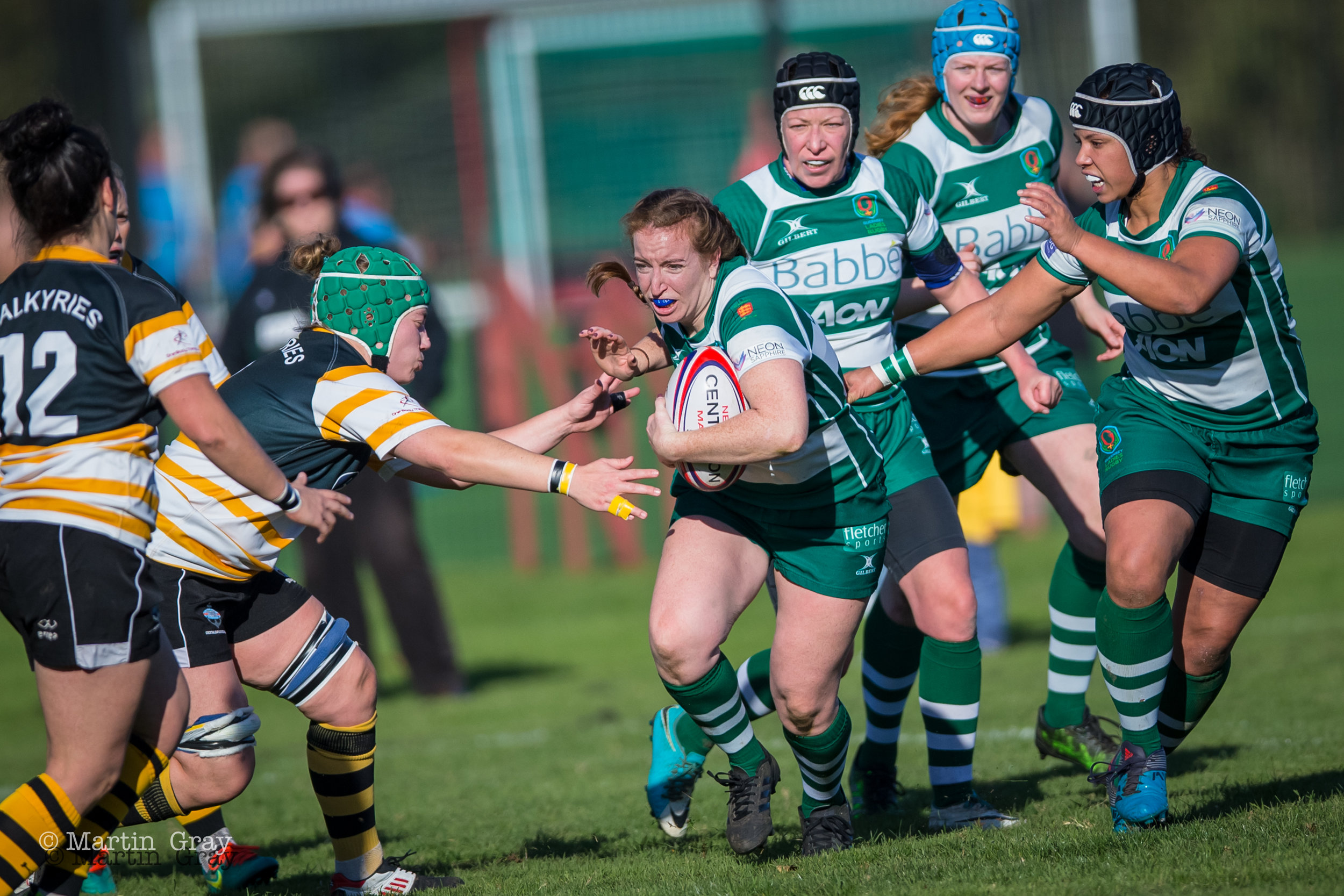 Guernsey Ladies v Portsmouth Valkyries played at Footes Lane (Club Pitch) on 3rd November 2018… Portsmouth win 10-35…