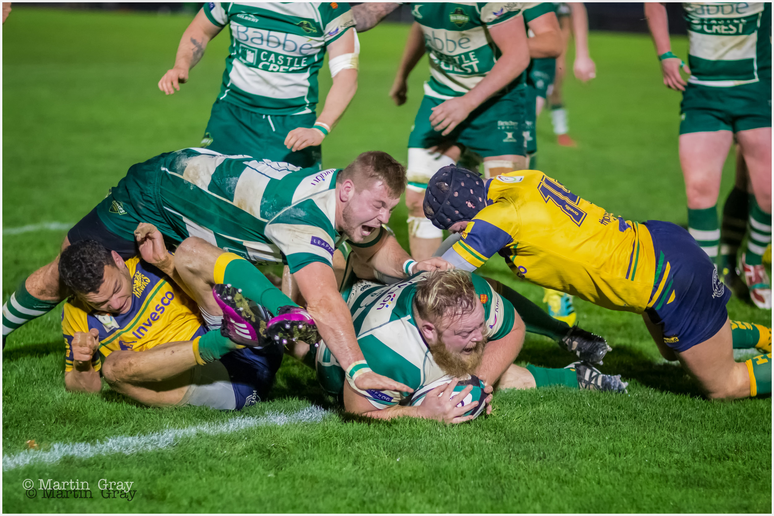 Guernsey Raiders v Henley Hawks in National 2 South Sat 8th December 2018… Hawks win… MORE PHOTO TO BE ADDED LATER TODAY!!!!!