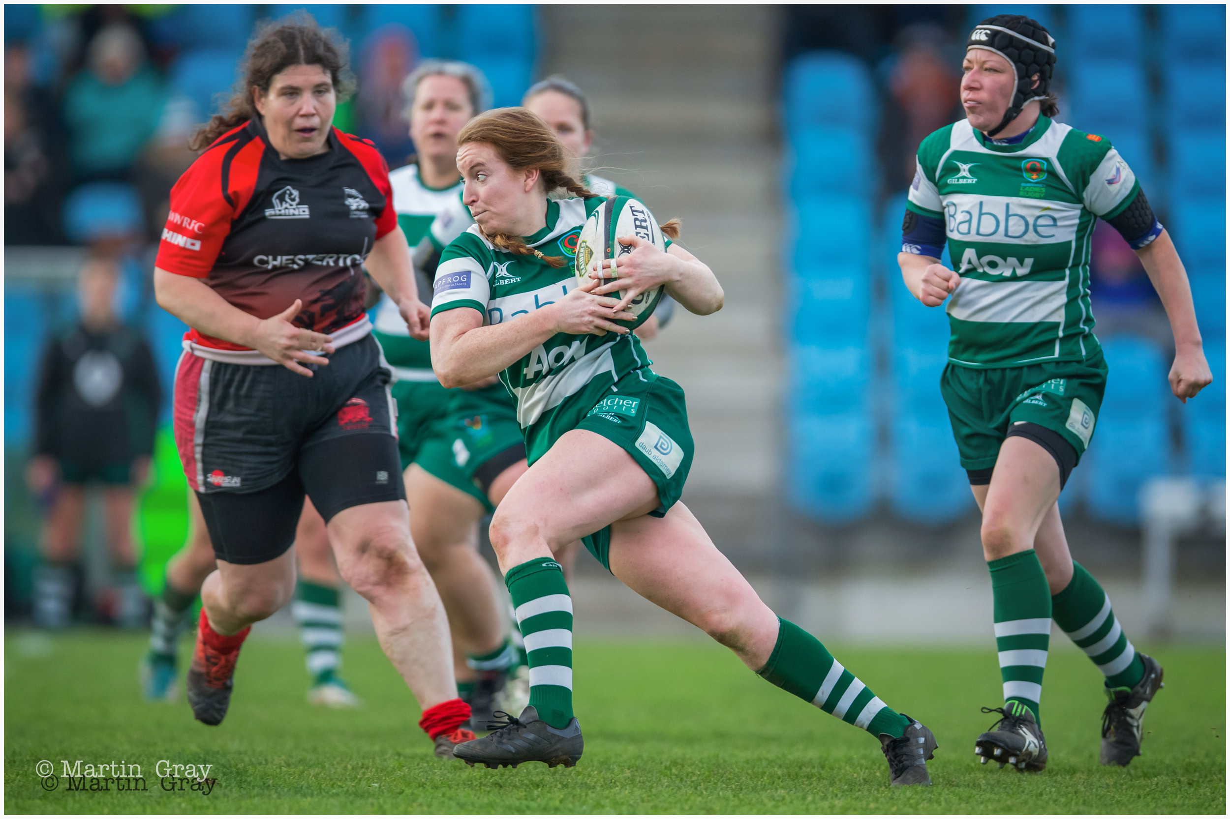 Guernsey Ladies v London Welsh Ladies played at Footes Lane… 13th January 2019… All level at 15-15 in a hard fought battle!