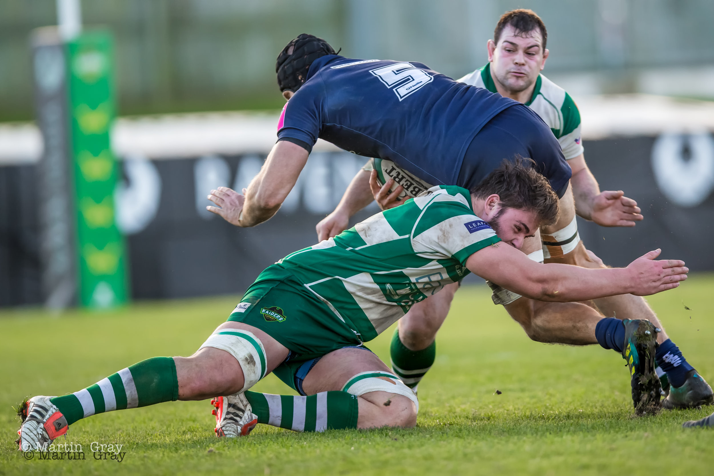 Guernsey Raiders v Barnes RFC played at Footes Lane 19 th January 2019… Raiders win 22-21…