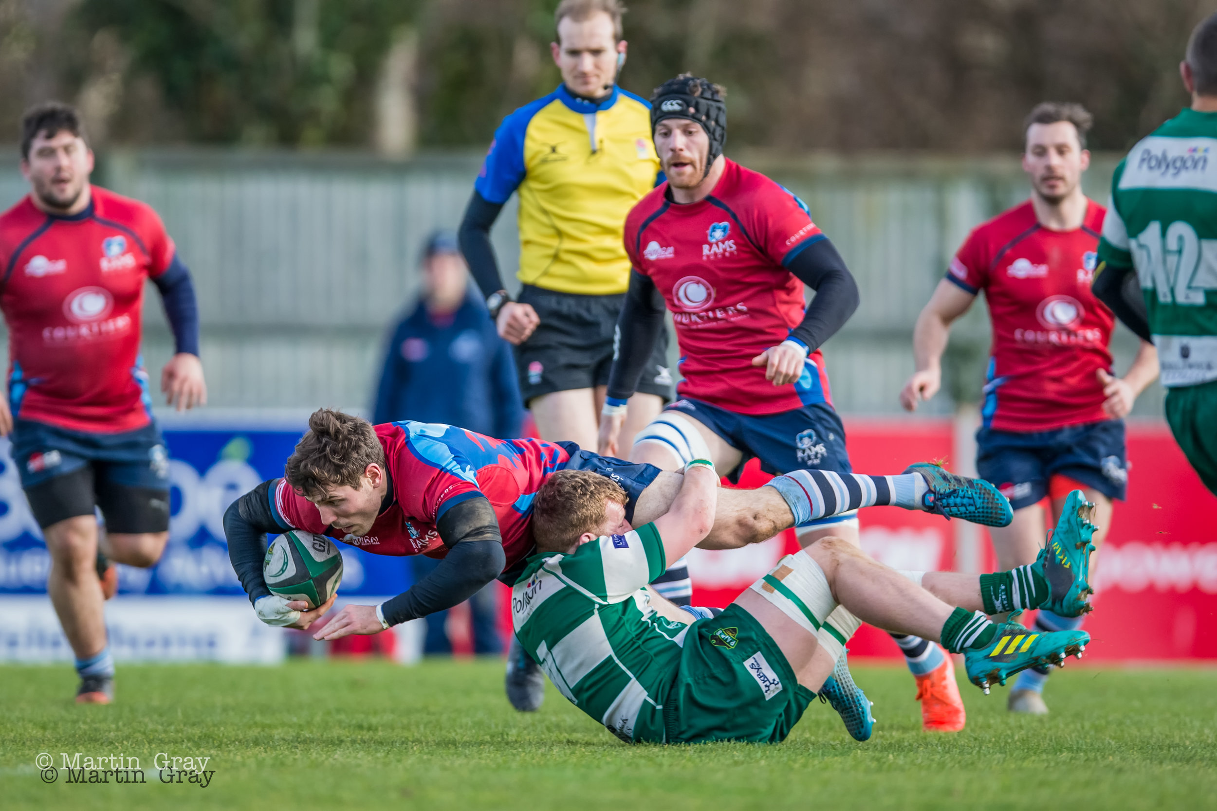 Guernsey Raiders v Rams RFC played at Footes Lane 2nd Feb 2019… Rams win 8-59