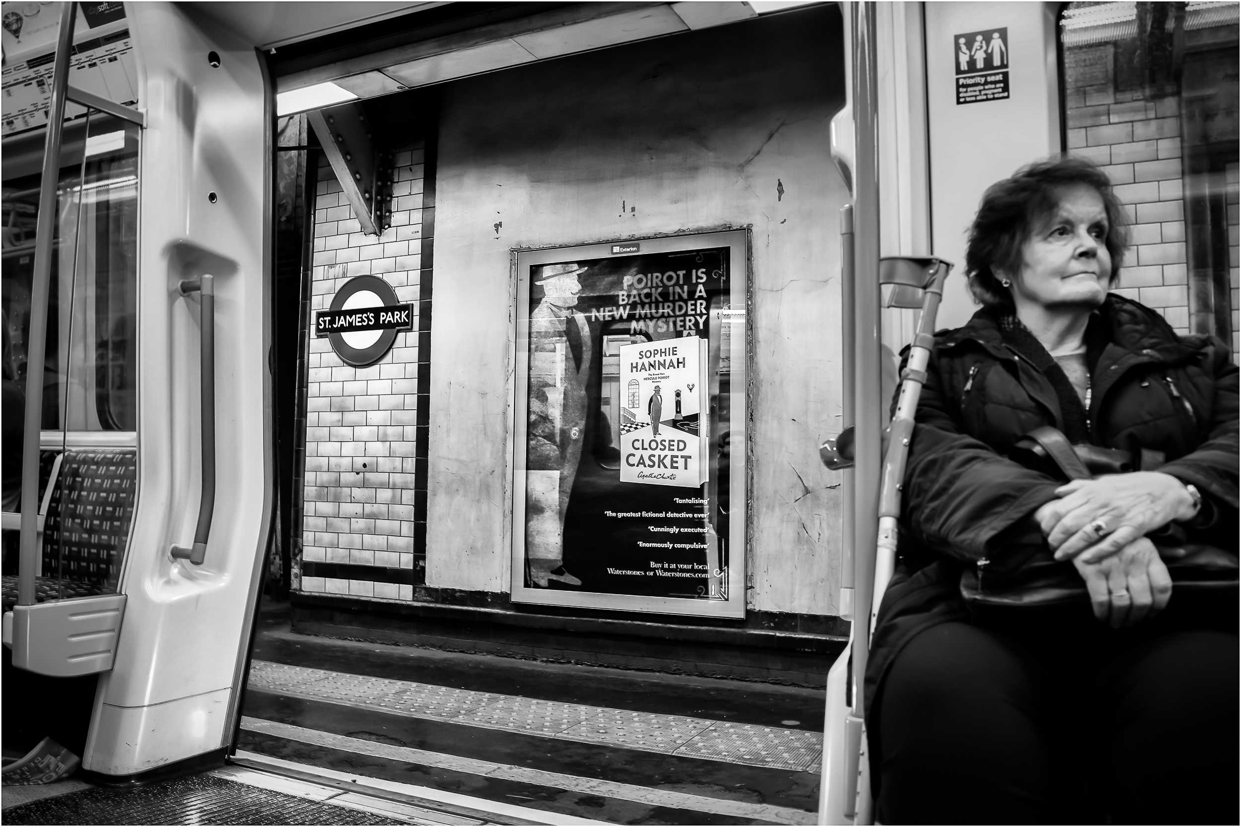 'Mystery on the Tube' …    Guernsey Eisteddfod 2017 - Honours in Mono Print
