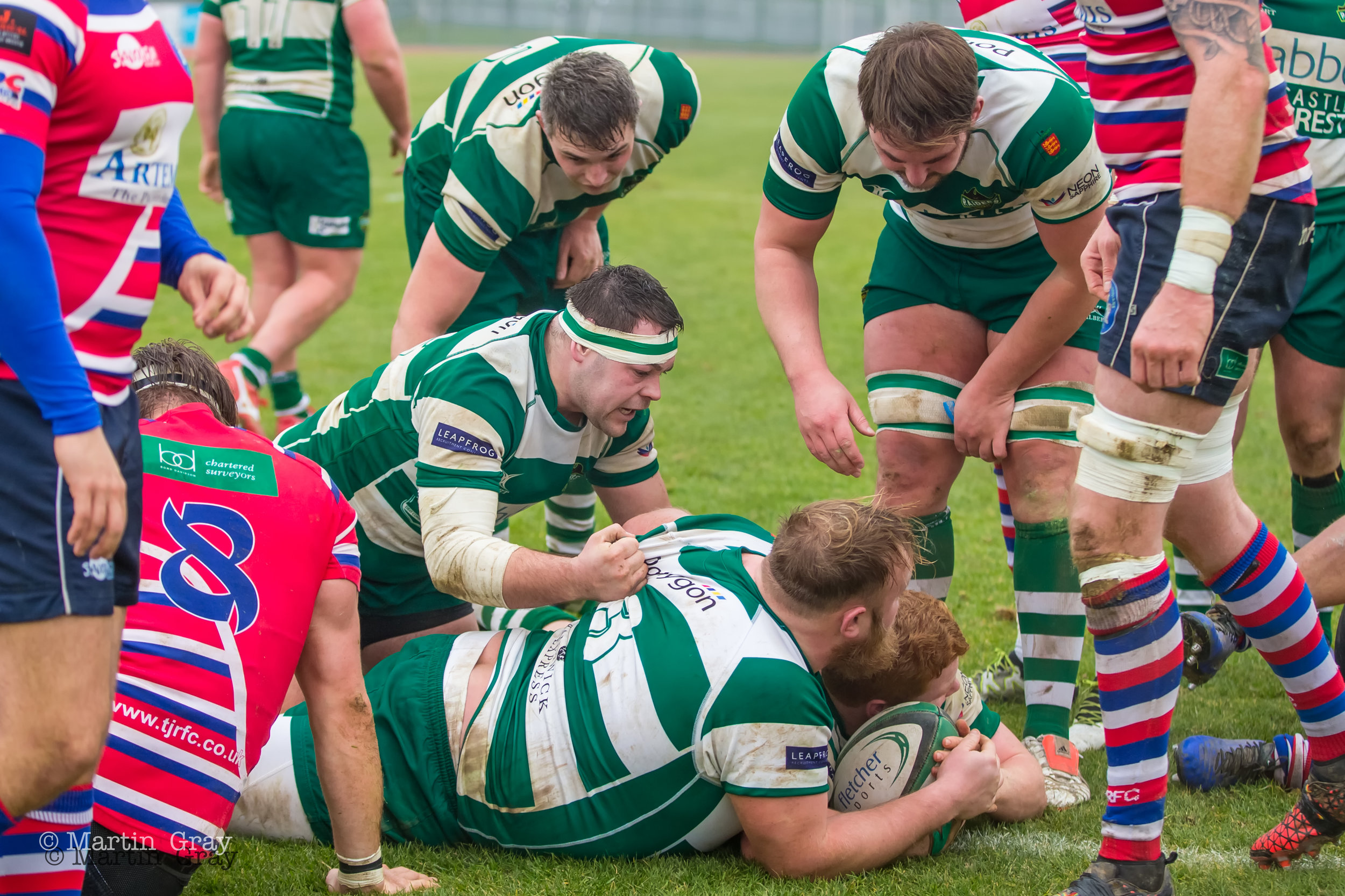 Guernsey Raiders v Tonbridge Juddians played at Footes Lane 16th Feb 2019… TJ's win 17-35…