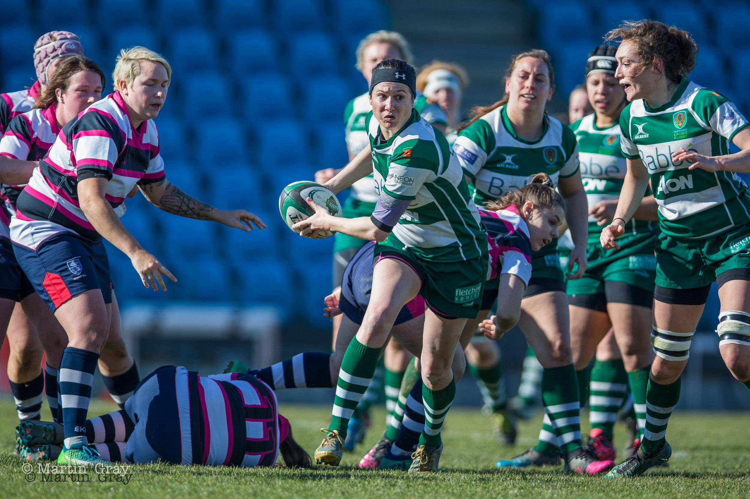 Guernsey Ladies v Havant Ladies played at Footes Lane Feb 24th 2019… GLR winning 54-7. Great effort Ladies!