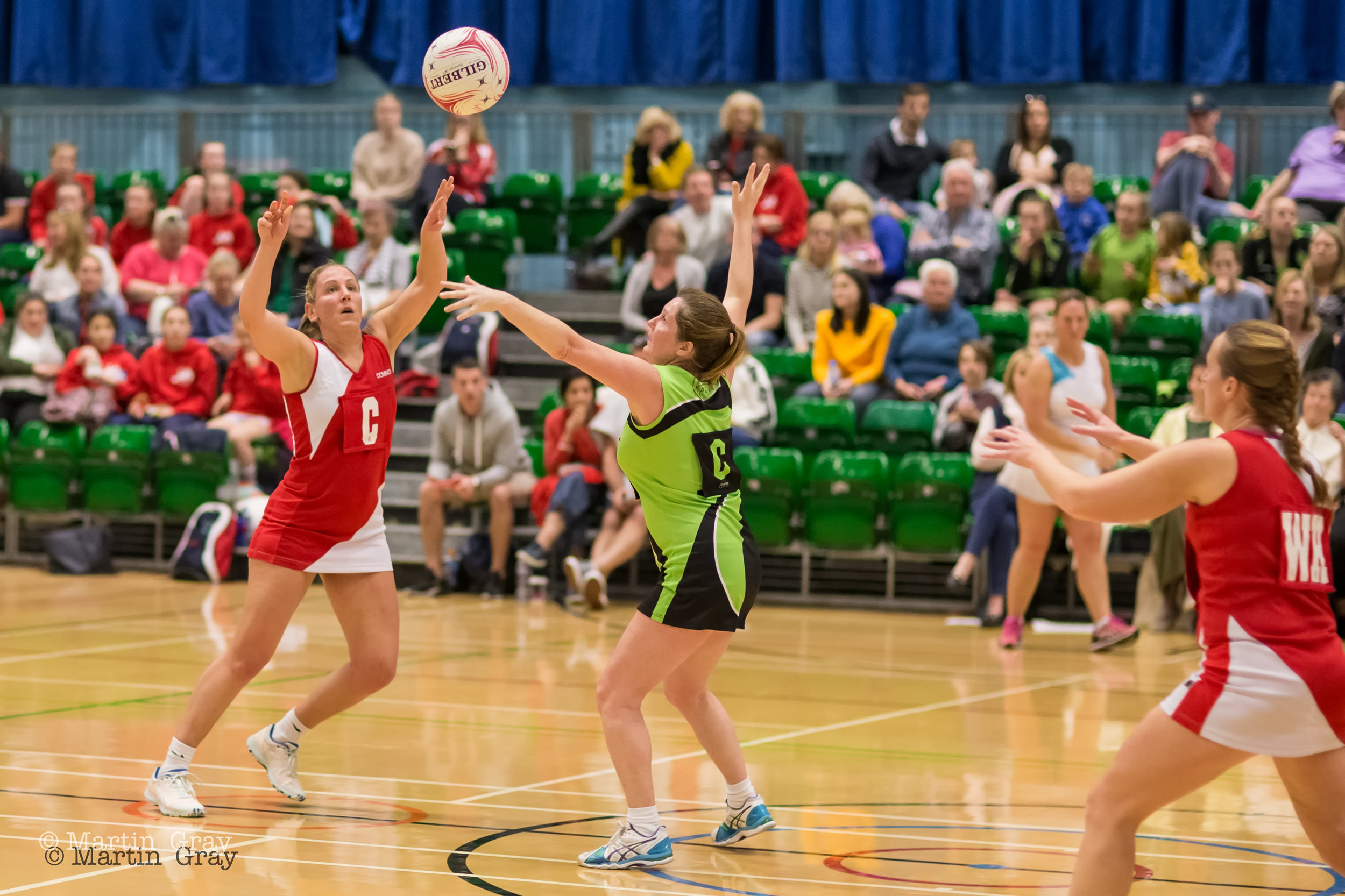Guernsey Netball Inter-Insular Over 30's v Jersey at Beau Sejour 31st March 2019….