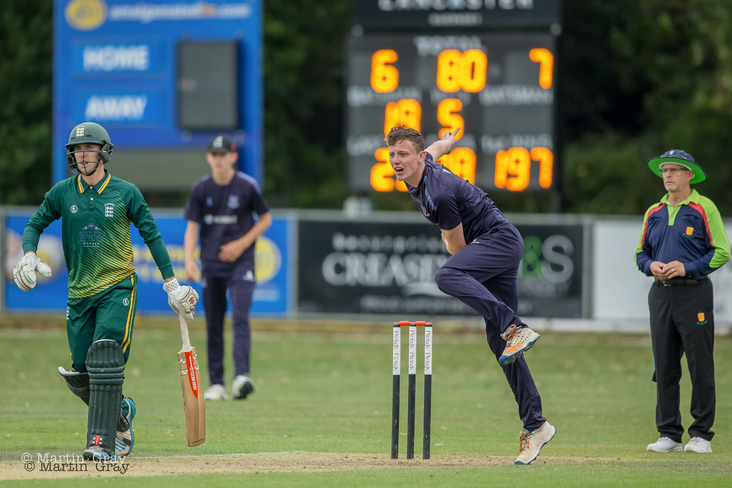 Guernsey XI and Guernsey U19's v Sussex Academy played at KGV Playing Fields August 4th and 5th 2019… Sussex Academy win both games…