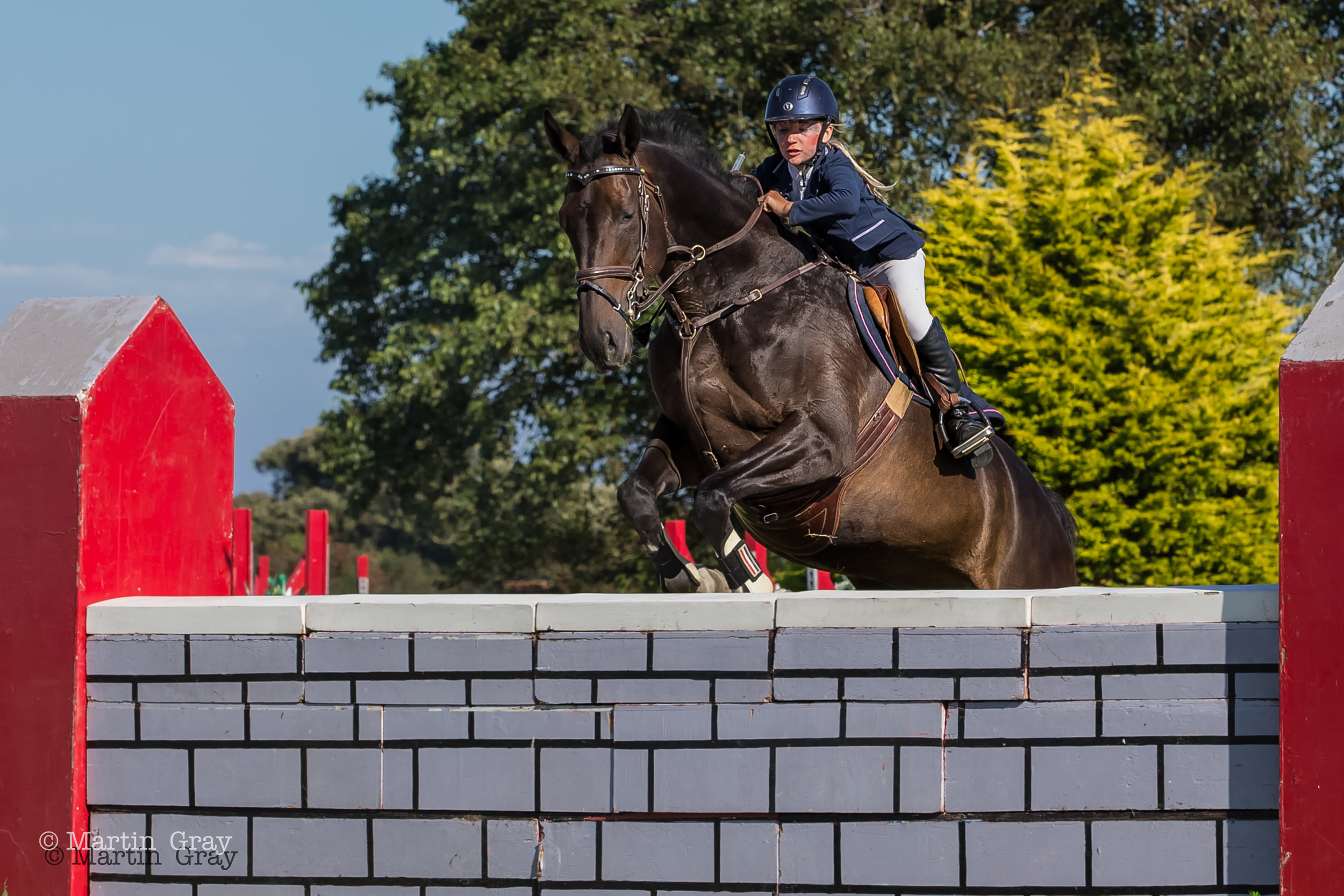The 2019 Guernsey Showjumping Horse of the Year Show Puissance Event…