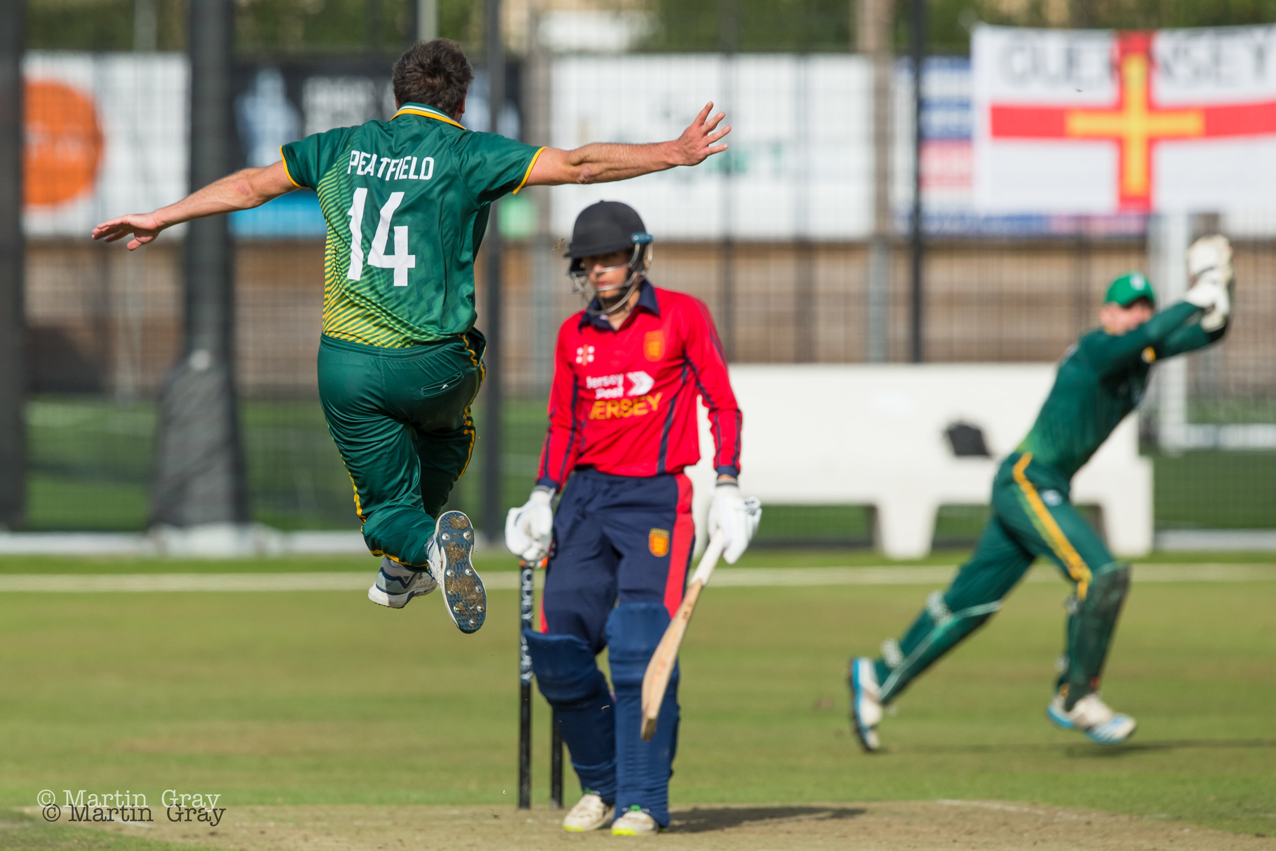 Guernsey v Jersey in the Odey Wealth 2019 Inter-Insular played at KGV Playing Fields 31st August… Jersey win by 5 wkts…