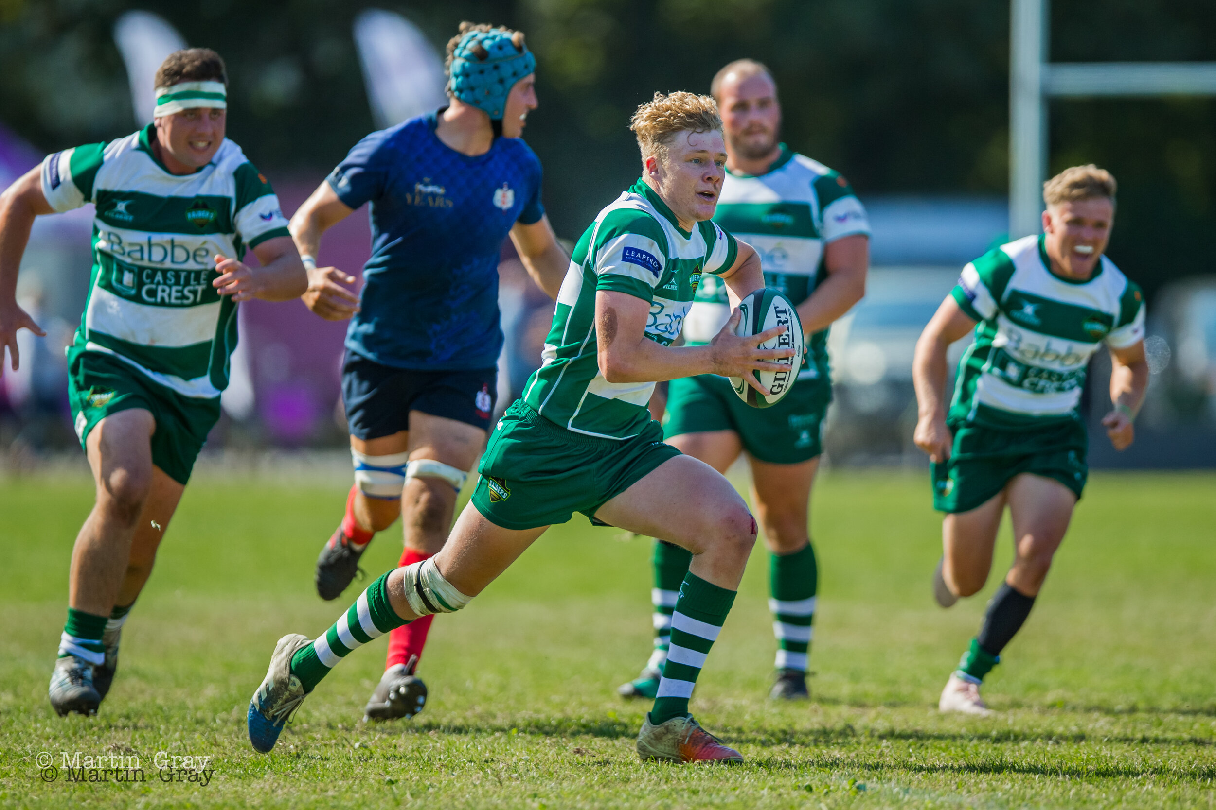 Guernsey Raiders v Brighton RFC in London & SE Premier action on the club pitch at Footes Lane… Raiders win 22-7