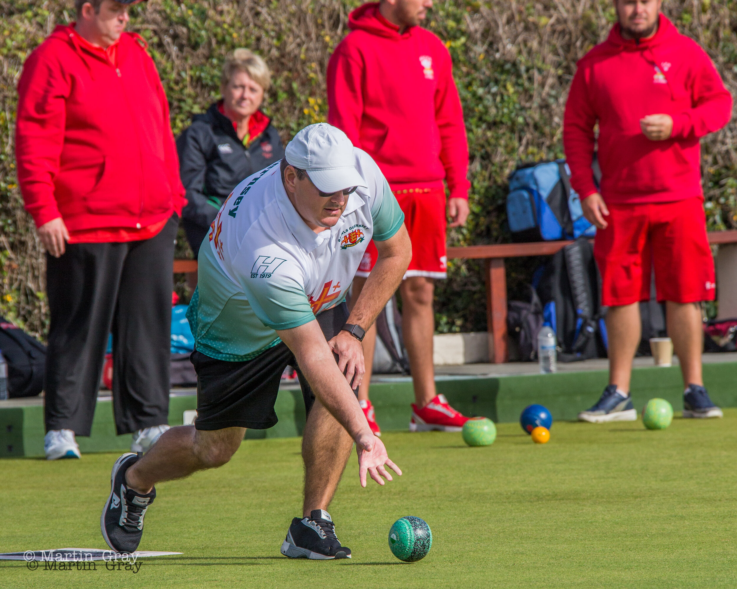 Guernsey Mixed Fours v Isle of Man in the European Championship 2019