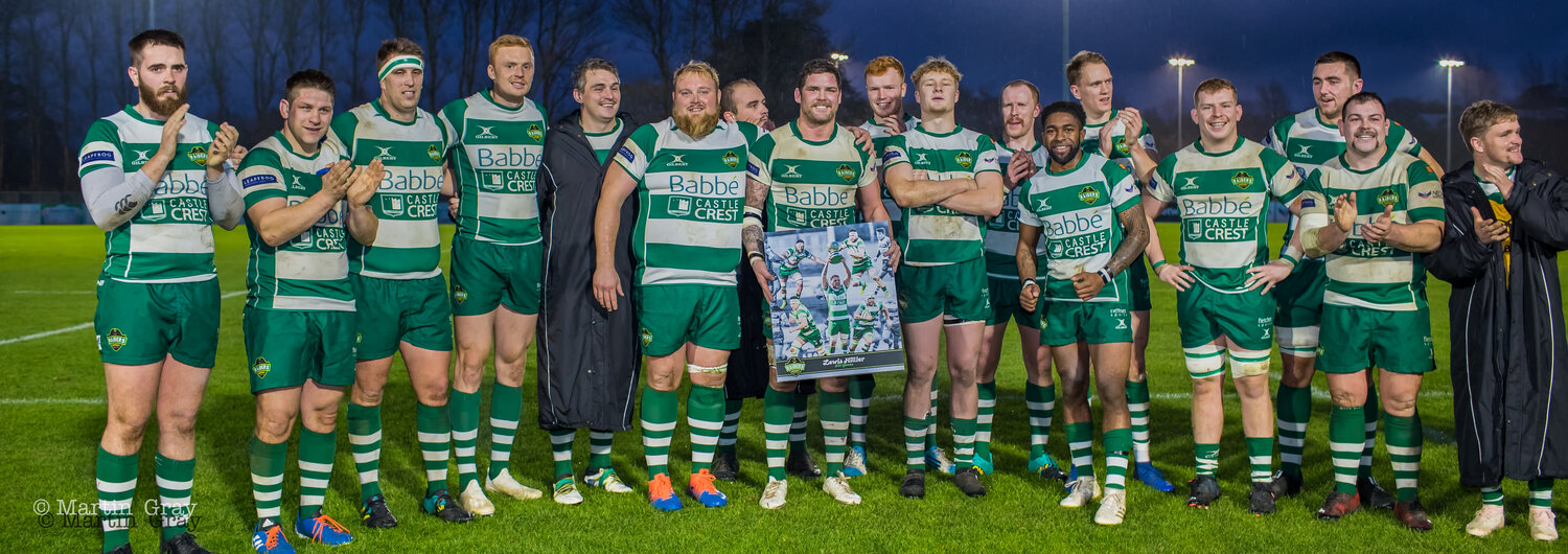 Guernsey Raiders' Captain Lewis Hillier joins 'The 200 Club'…