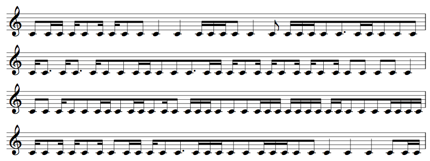 Procession of the Clapping Music