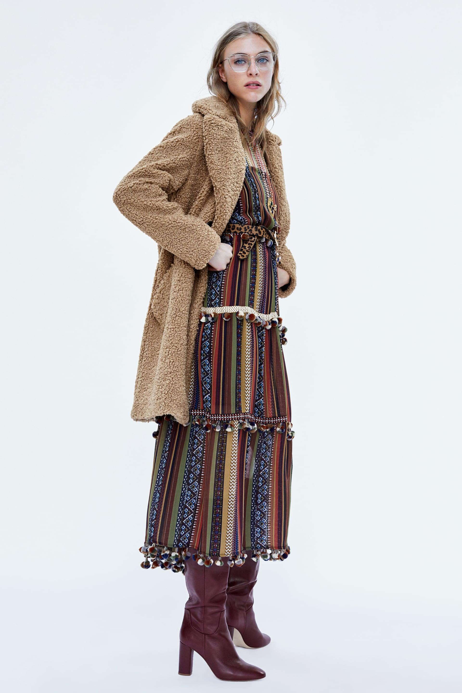 Teddy Coat Zara 79,95 €
