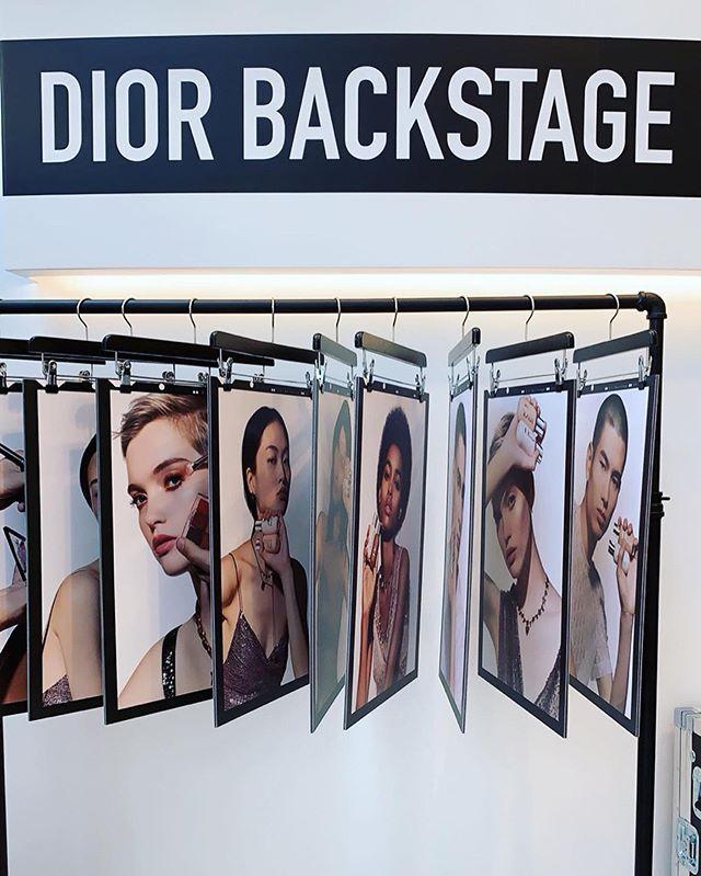 Dior Backstage 🖤  #diorbackstage #beauty #dior #makeup #beautybloggers #backstage #dior💄#diorbeautylovers