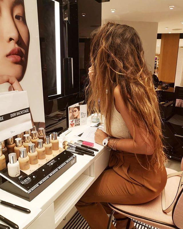Masterclass #diorbackstage 💄  #dior #diorbackstage #makeup #printempshaussmann #paris #beauty #nudecolors
