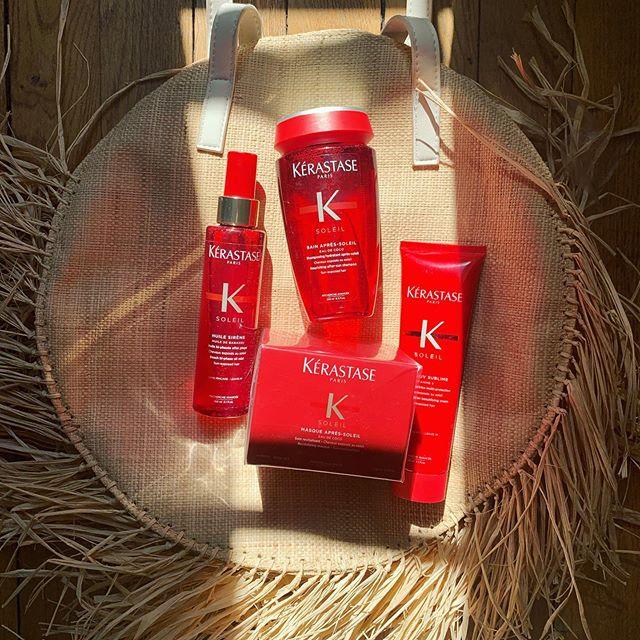 Cette semaine j'ai reçu la gamme Soleil de @kerastase_official ☀️ Parfait pour cet été !  #kerastase #haircare #soleil #produitoffert #summervibes #hairstyle #hairskin #kerastaseclub #sun