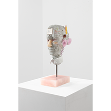Bust with Glass Ears