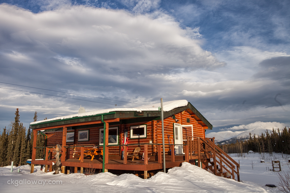 Our cabin in the boonies.