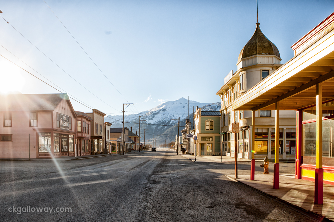 Rich was concerned about the 20 minute parking limit in Skagway yesterday (Feb 1). I told him not to worry.