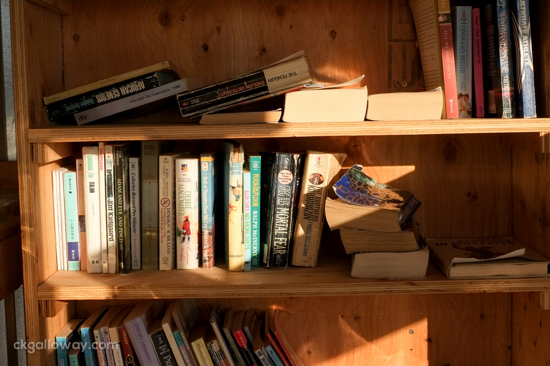 Books in the Re-use Area