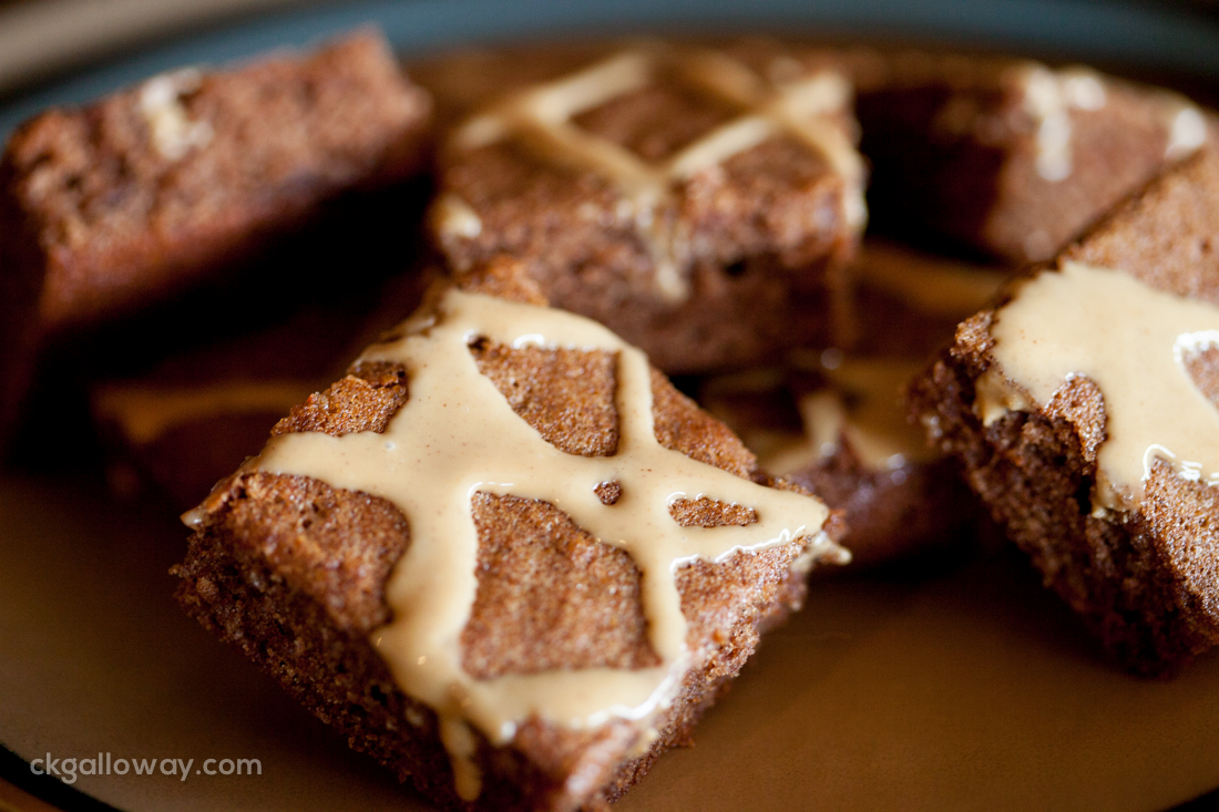 My successful attempt at carob brownies. Photo by Christa Galloway.