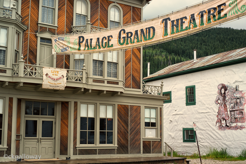 The Palace Grand Theatre in Dawson, Yukon.