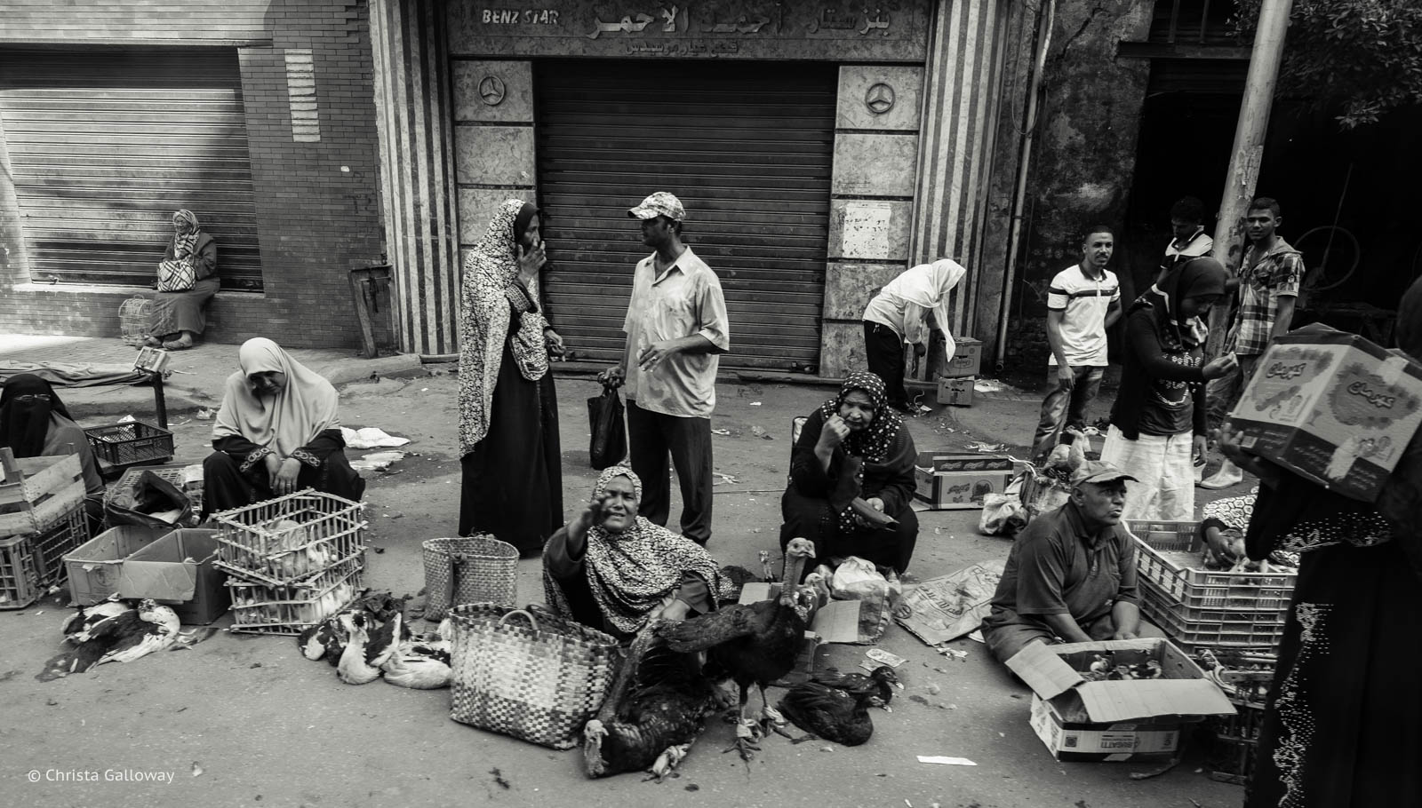 The Friday Souq in Alexandria.