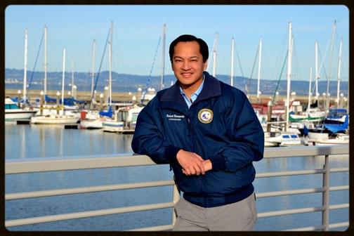 Harbor Commissioner Robert Bernardo