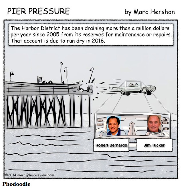 Pier-Pressure-Jim-Tucker-Robert-Bernardo-Harbor-Commissioner