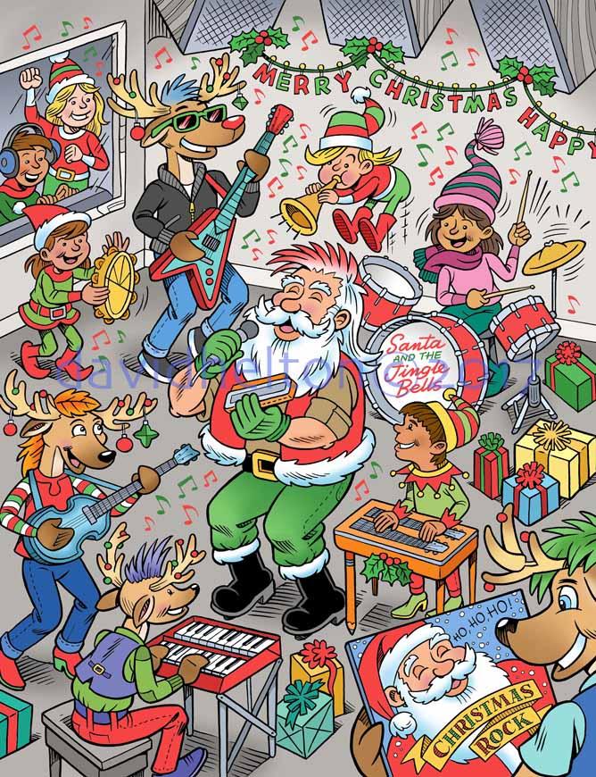 Highlights Rockin' Santa