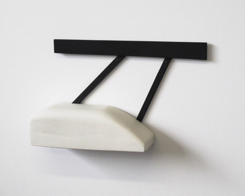 "Untitled, 2013, wood, paint, nails, 13 ½ x 3 ¼ x 8"""