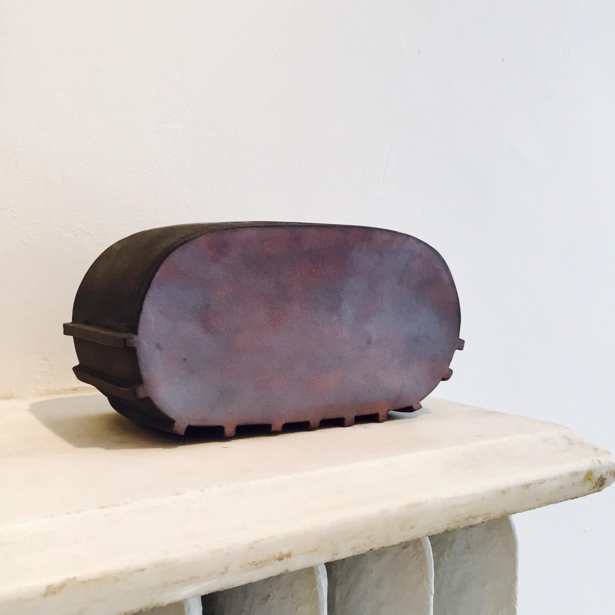 "Untitled, 2011, stoneware, 7½ x 3¾ x 4"""