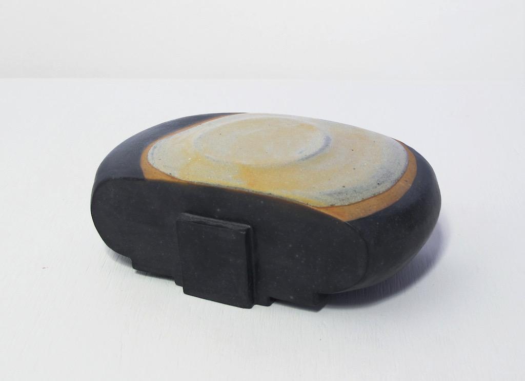 """Untitled, 2011, stoneware, glaze, 6½ x 3¾ x 2¾"""""""
