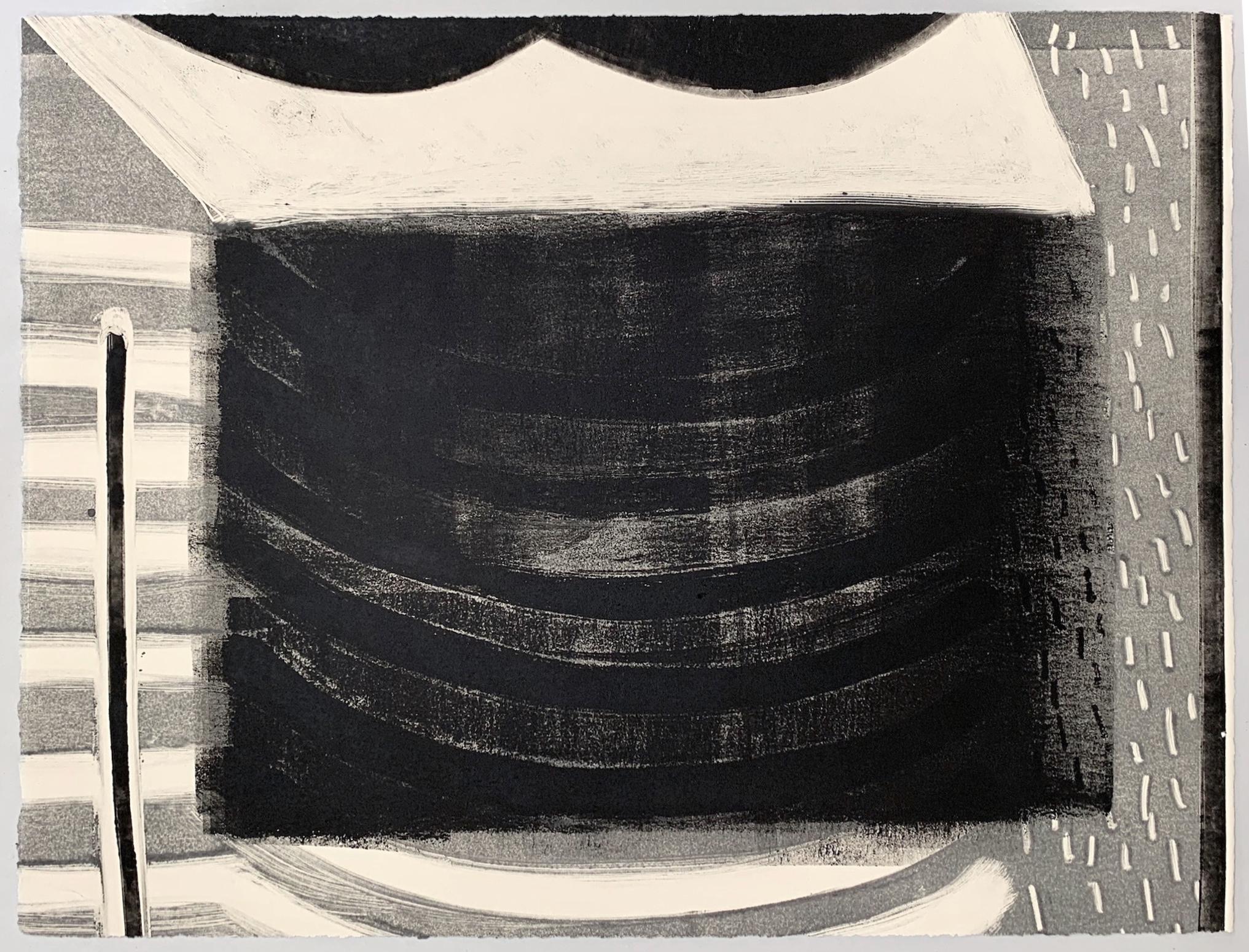 "Untitled, 2019, monotype, 18-1/2 x 15"""
