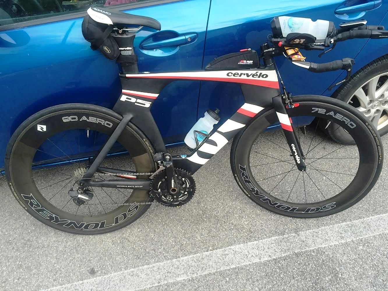 Thanks Blue Ridge Cyclery for getting my Cervelo P5 ready!