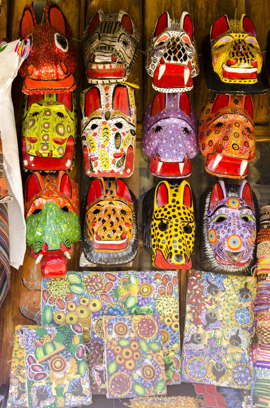 Colorful art in San Pedro La Laguna