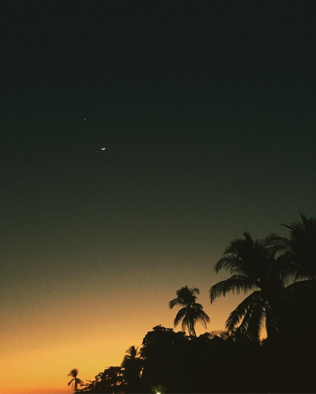 Sunset in El Zonte