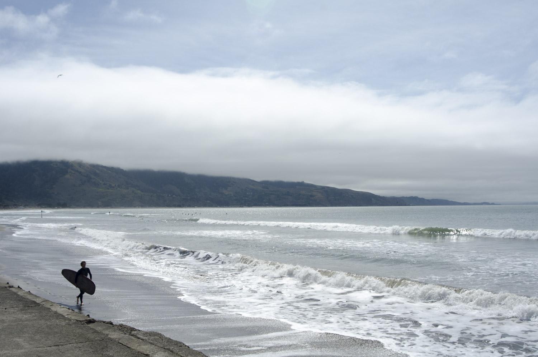 Bolinas, cold waves