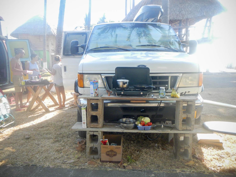 Outside Kitchen in El Salvador