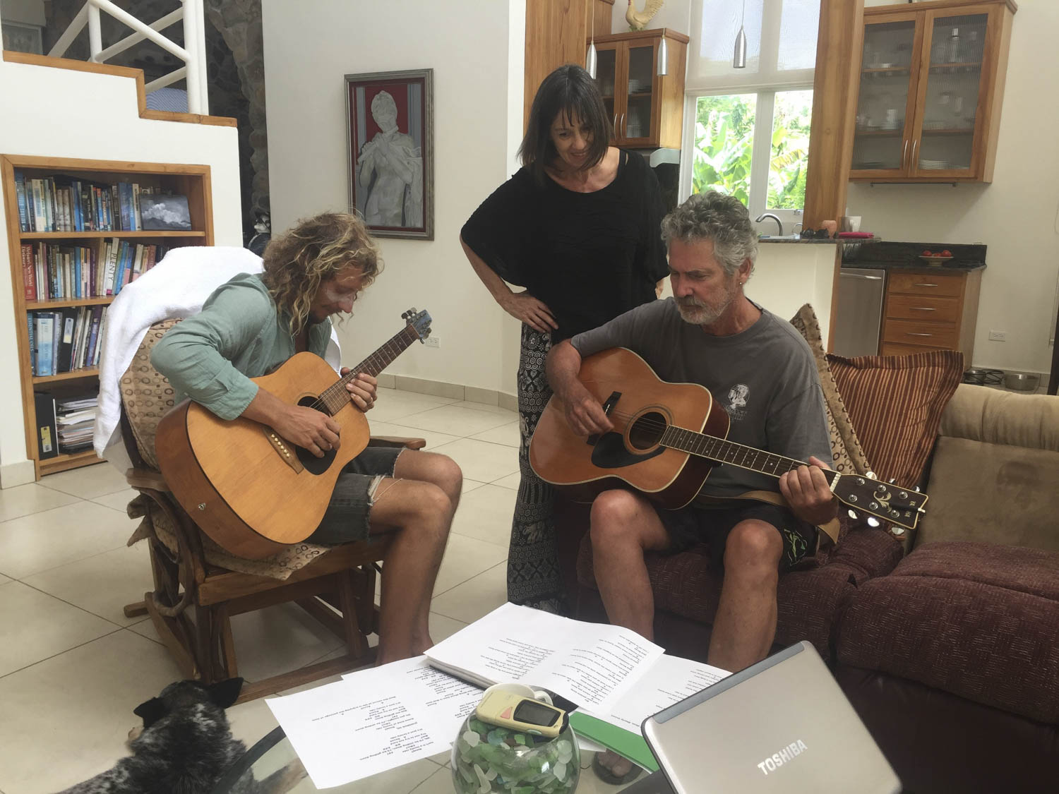 Jams with Adele and Steve