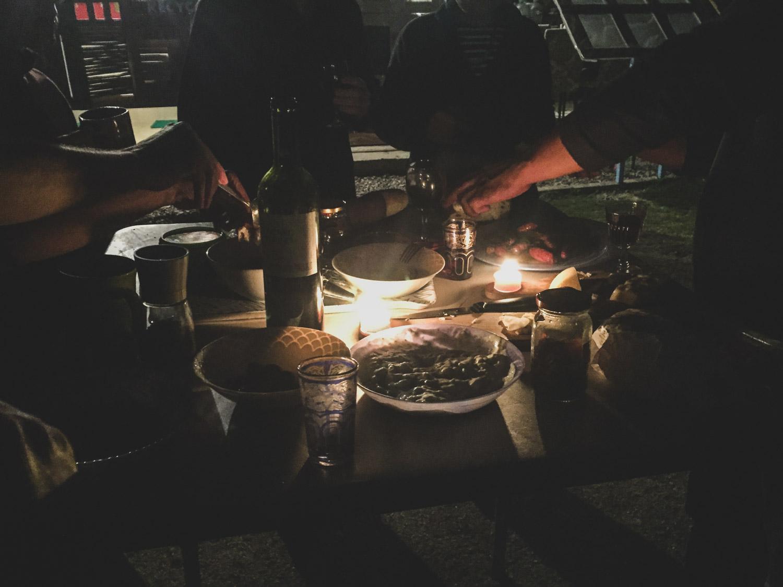 Overlanders celebration at El Refugio