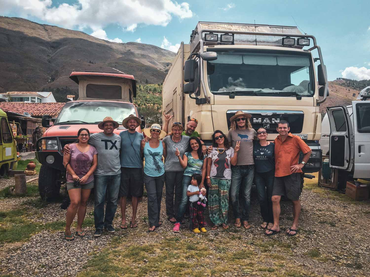 A great group of friends. From left to right, local traveler, Santiago(MI Refugio), John and Mandi(USA), Barbara and Mark(Swiss couple), Diana and Lucia(Mi Refugio), Ingrid, Matty, and Julie and Marcus(Brit couple)
