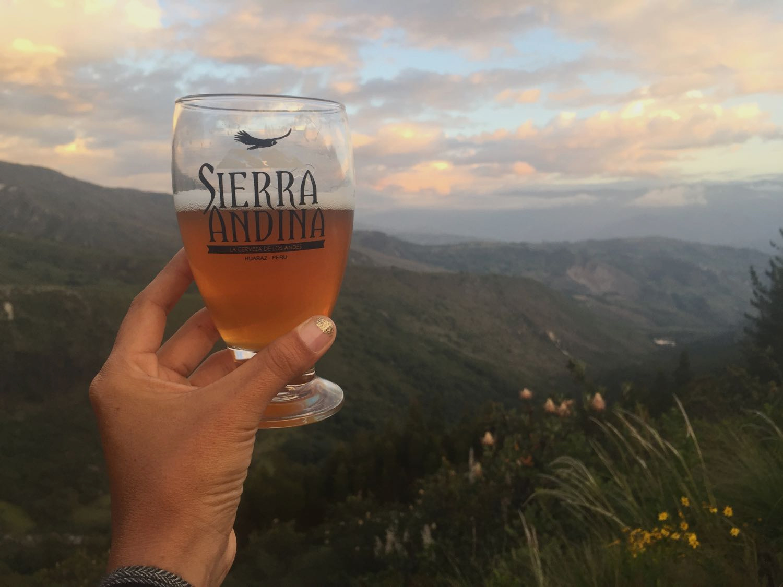 Sierra Andina, best artisan beer in Huaraz
