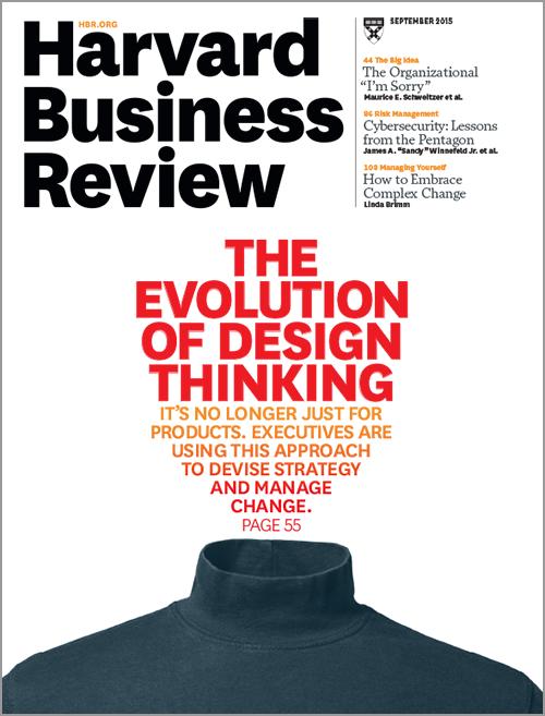 Harvard Business Review Magazine, September 2015 Issue