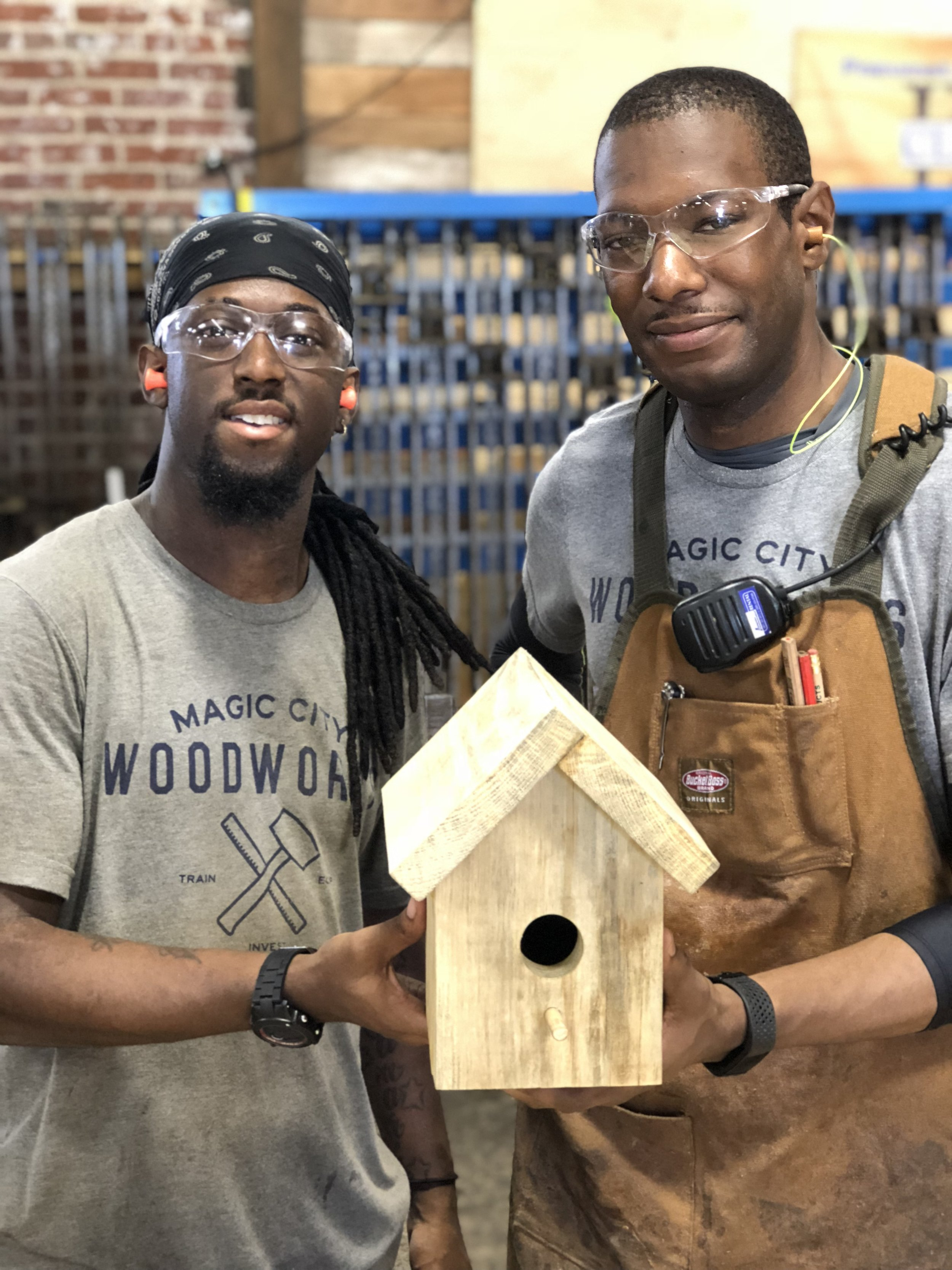 A FEW PIECES OF LUMBER CAN CHANGE LIVES. - An unforgettable experience that impacts young men in Birmingham, AL and brings joy to children everywhere.