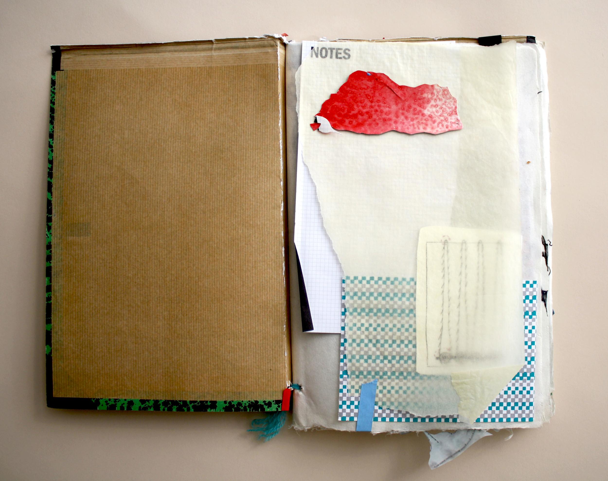 page 1: spilled paint cloud, old schematics